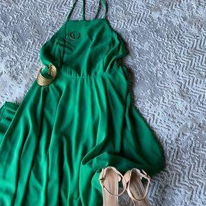 Lulus Green Maxi Dress